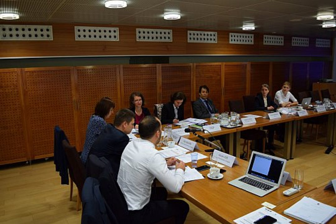 12th Steering Group Meeting in Brussels – 25 May 2016