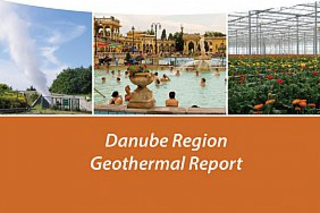 The Danube Region Geothermal Report is available for download