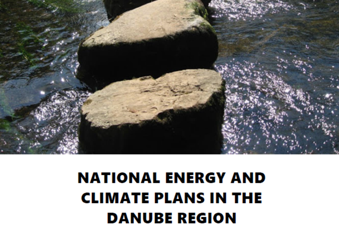 PA 2 commissioned a study on the comparative assessment of the Danube Region Countries' National Energy and Climate Plans